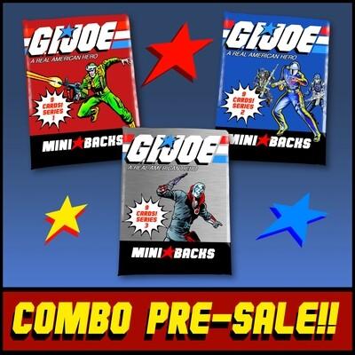 GI JOE SERIES 3 PACK COMBO! **PRE-SALE!!**