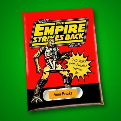 Star Wars Mini Back Wax Pack Series 3A