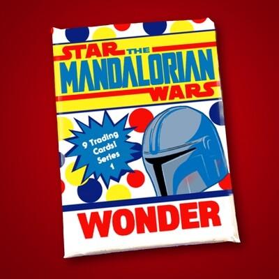 Mandalorian Wonder Bread Wax Pack series 1!