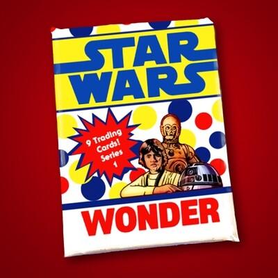 Star Wars Wonder Bread Wax Pack series 1!