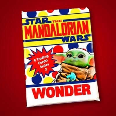 Mandalorian Wonder Bread Wax Pack series 2!