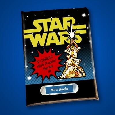 Star Wars Mini Back Wax Pack Series 1A