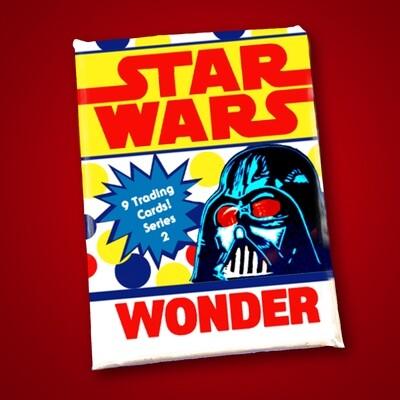 Star Wars Wonder Bread Wax Pack series 2!