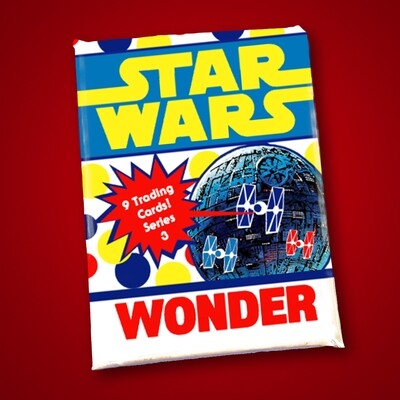 Star Wars Wonder Bread Wax Pack series 3!