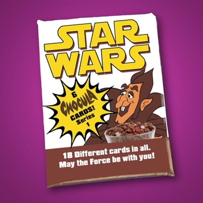 C Count Chocula Star Wars Wax Pack Series 1!