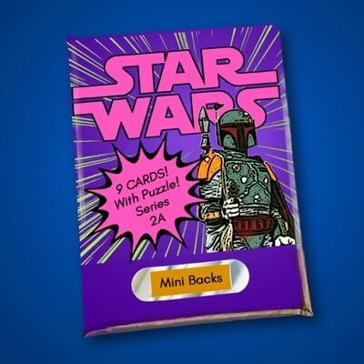 Star Wars Mini Back Wax Pack Series 2A
