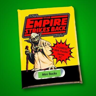 Star Wars Mini Back Wax Pack Series 3C