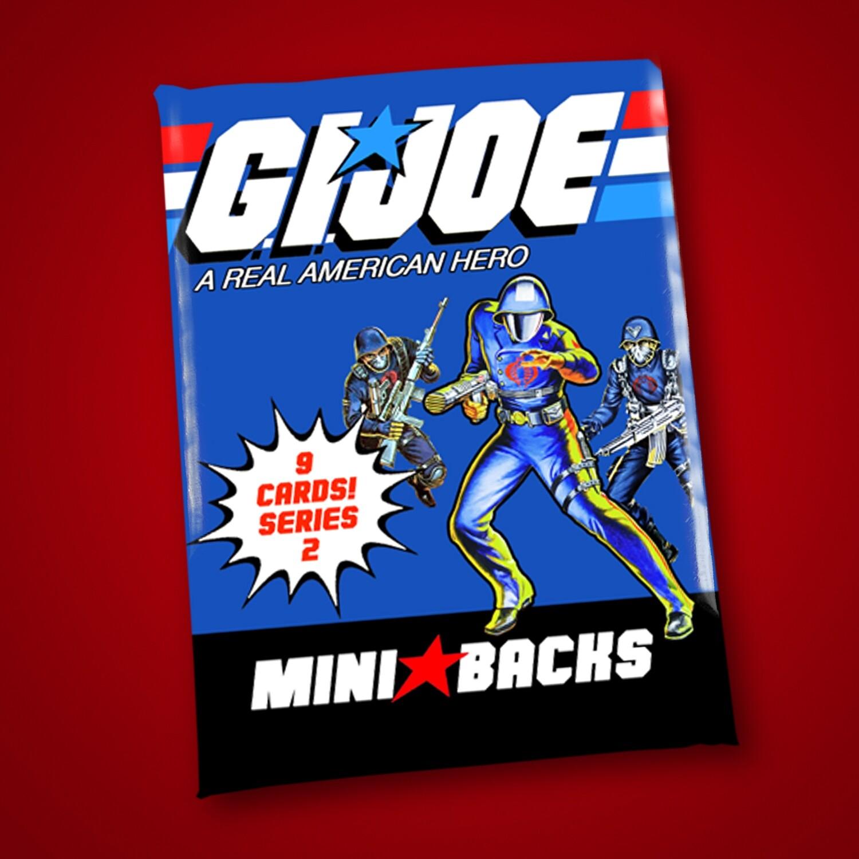 GI JOE SERIES 2 MINI BACK WAX PACK!