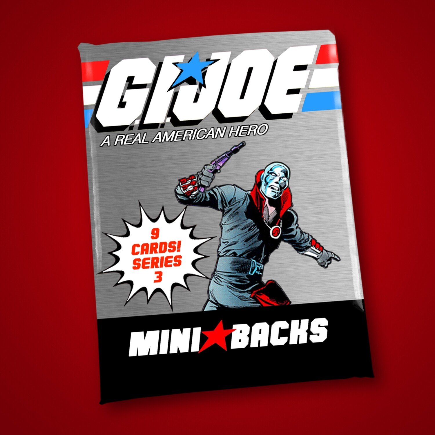 GI JOE SERIES 3 MINI BACK WAX PACK!