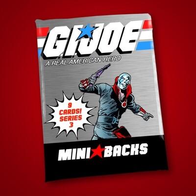 GI JOE SERIES 3 MINI BACK WAX PACK!