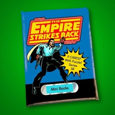 Star Wars Mini Back Wax Pack Series 3B