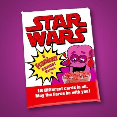 C Franken Berry Star Wars Wax Pack Series 3!