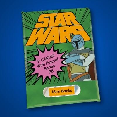 Star Wars Mini Back Wax Pack Series 2B