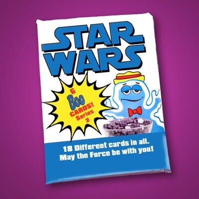 C Boo Berry Star Wars Wax Pack Series 2!