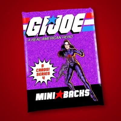 GI JOE SERIES 4 MINI BACK WAX PACK!