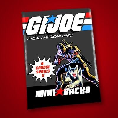 GI JOE SERIES 5 MINI BACK WAX PACK!