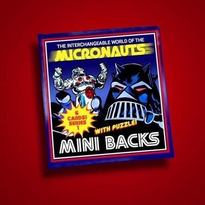 MICRONAUTS SERIES 1 MINI BACK WAX PACK!