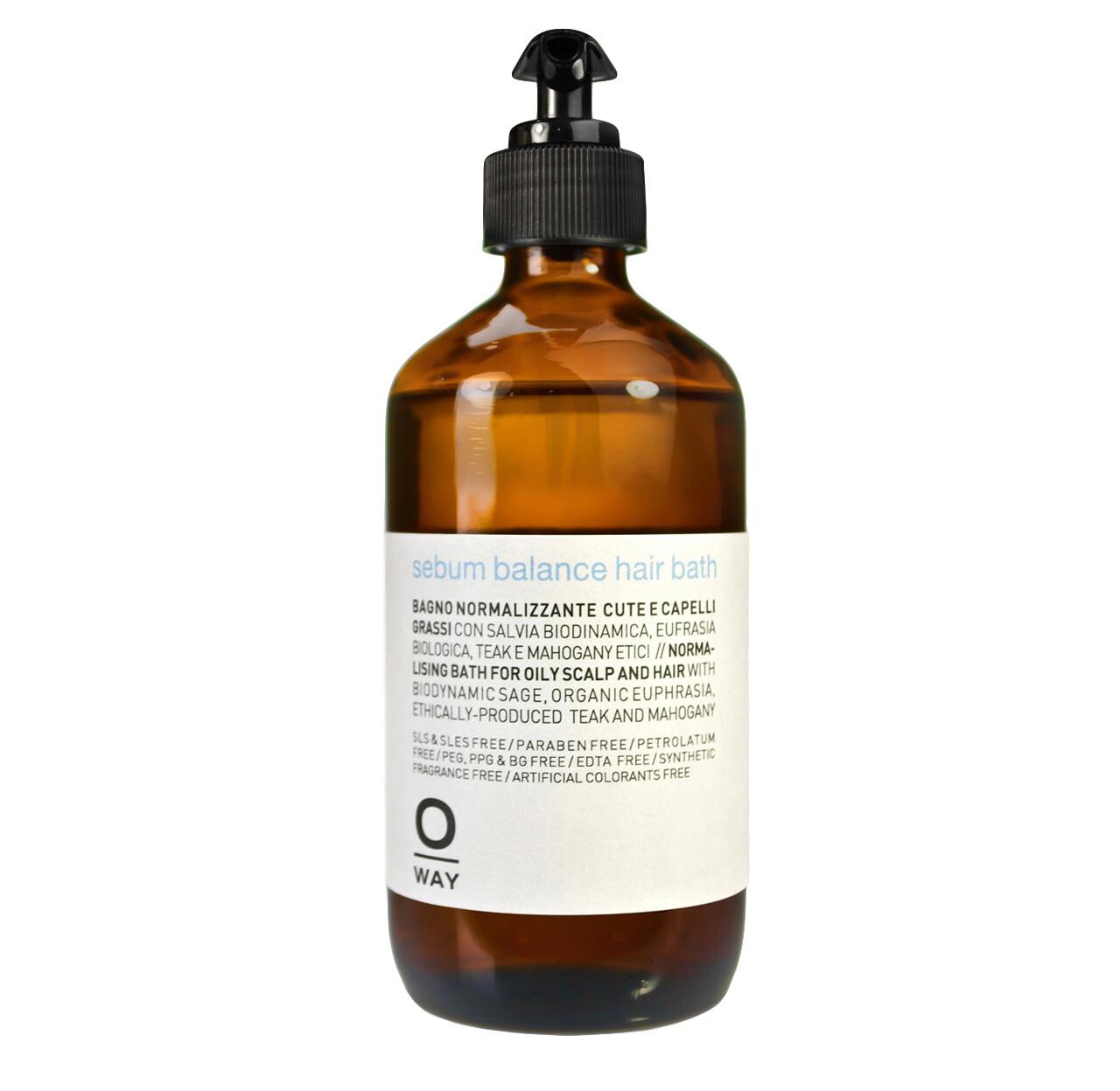 sebum balance hair bath 240ml