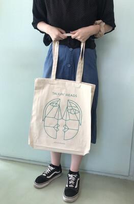 Talkin' Heads Tote Bag (Mint)