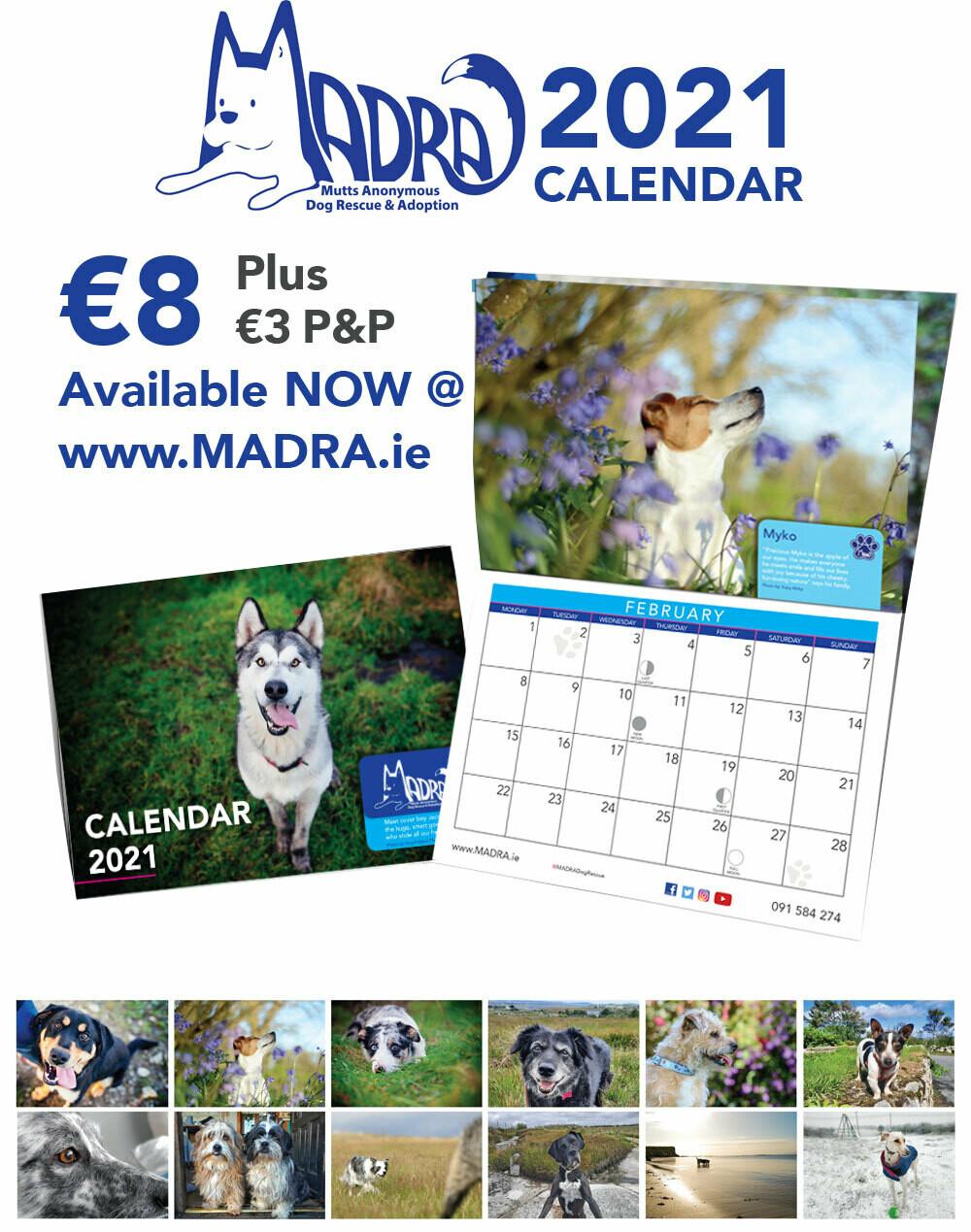 2021 Calendar - NOW IN-STOCK!