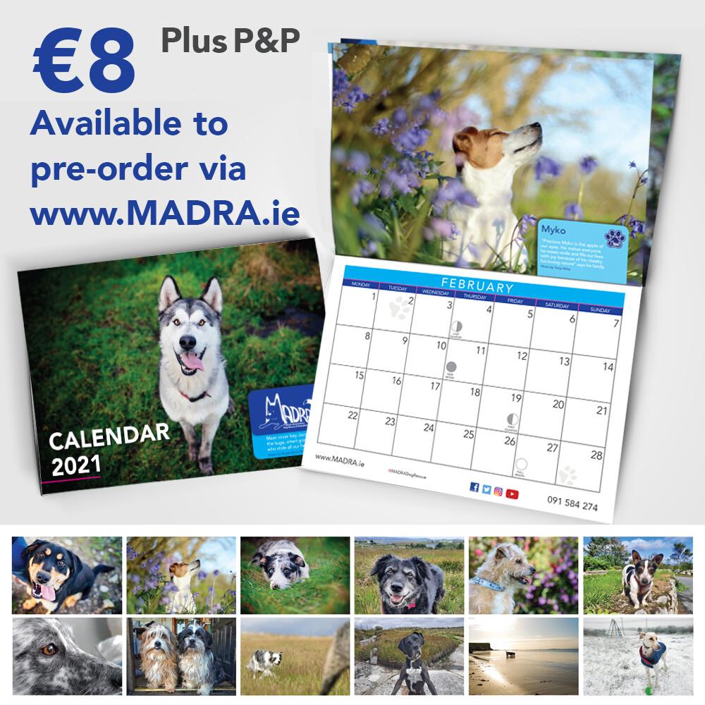 2021 Calendar - last few copies