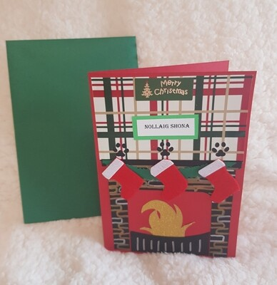 Handcrafted Christmas cards