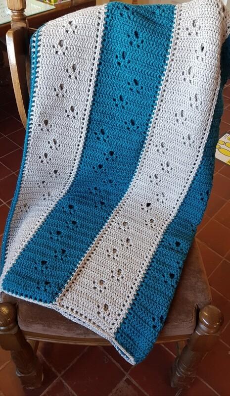 Gayles Paw Print Blankets
