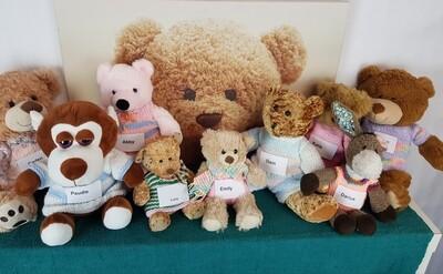 MADRA Bears with Handmade Outfits