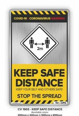Covid-19 - Keep Safe Distance