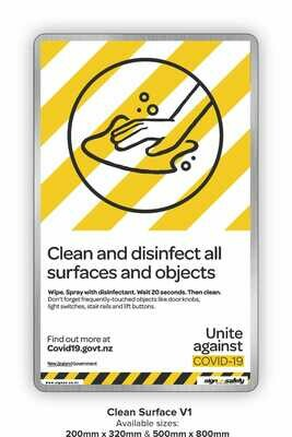 Covid-19 - Clean And Disinfect
