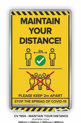 Covid-19 - Maintain Your Distance