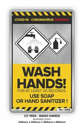 Covid-19 - Wash Hands!