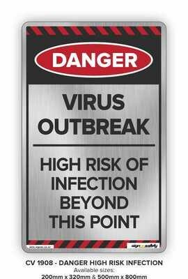 Danger - Virus Outbreak High Risk