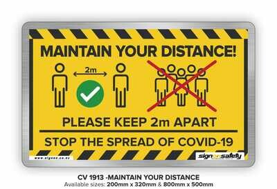 Maintain Your Distance