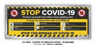 6 Ways To Reduce Risk - Banner