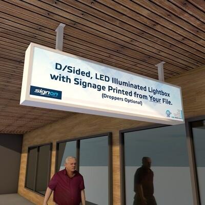 Illuminated Lightbox with Digital Print
