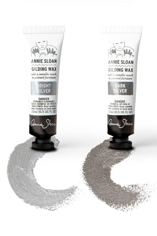 Annie Sloan Dark Silver Gilding Wax
