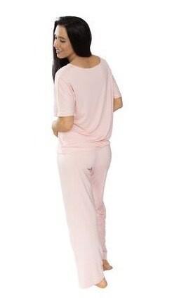 Bella PJ Pants Pink Medium
