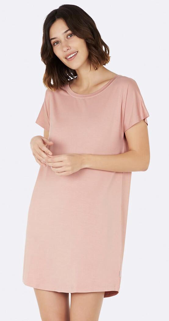 Boody Dusty Pink Nightdress Large