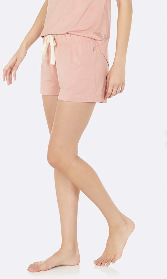 Boody Dusty Pink Shorts Large