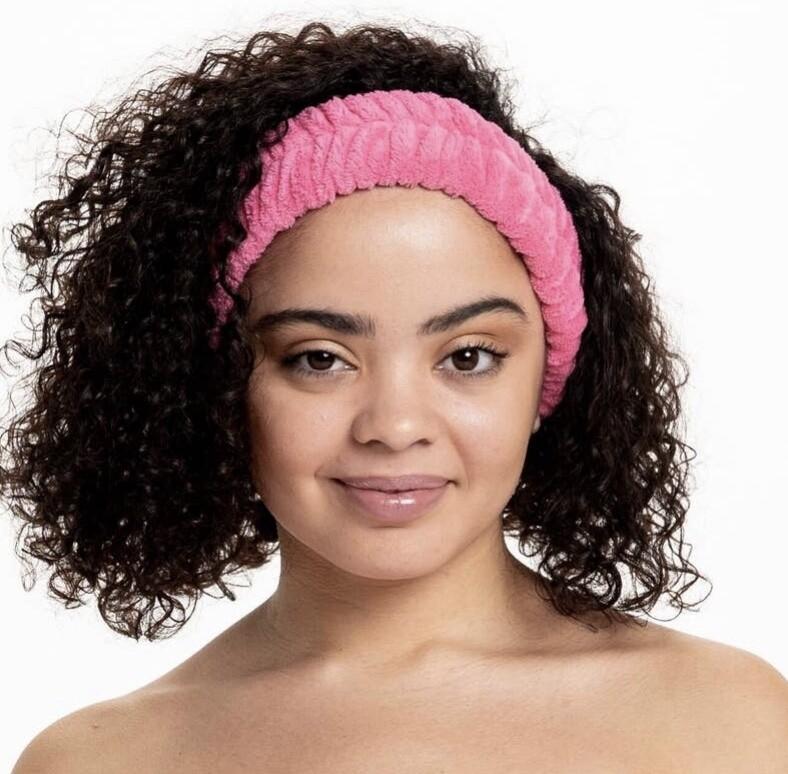 Bella Spa Head Band Hot Pink