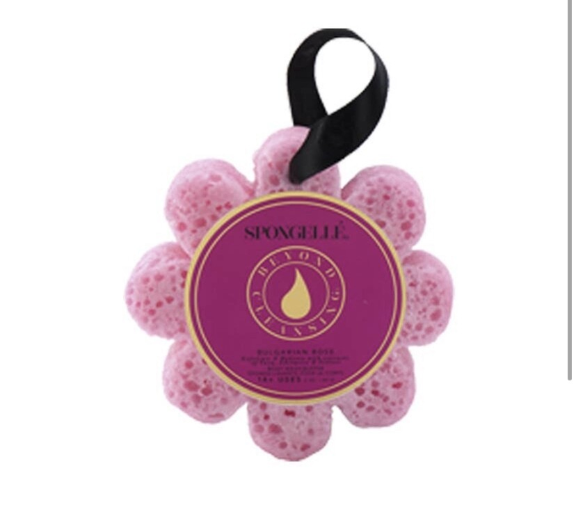 Spongelle Flower Pink Rose