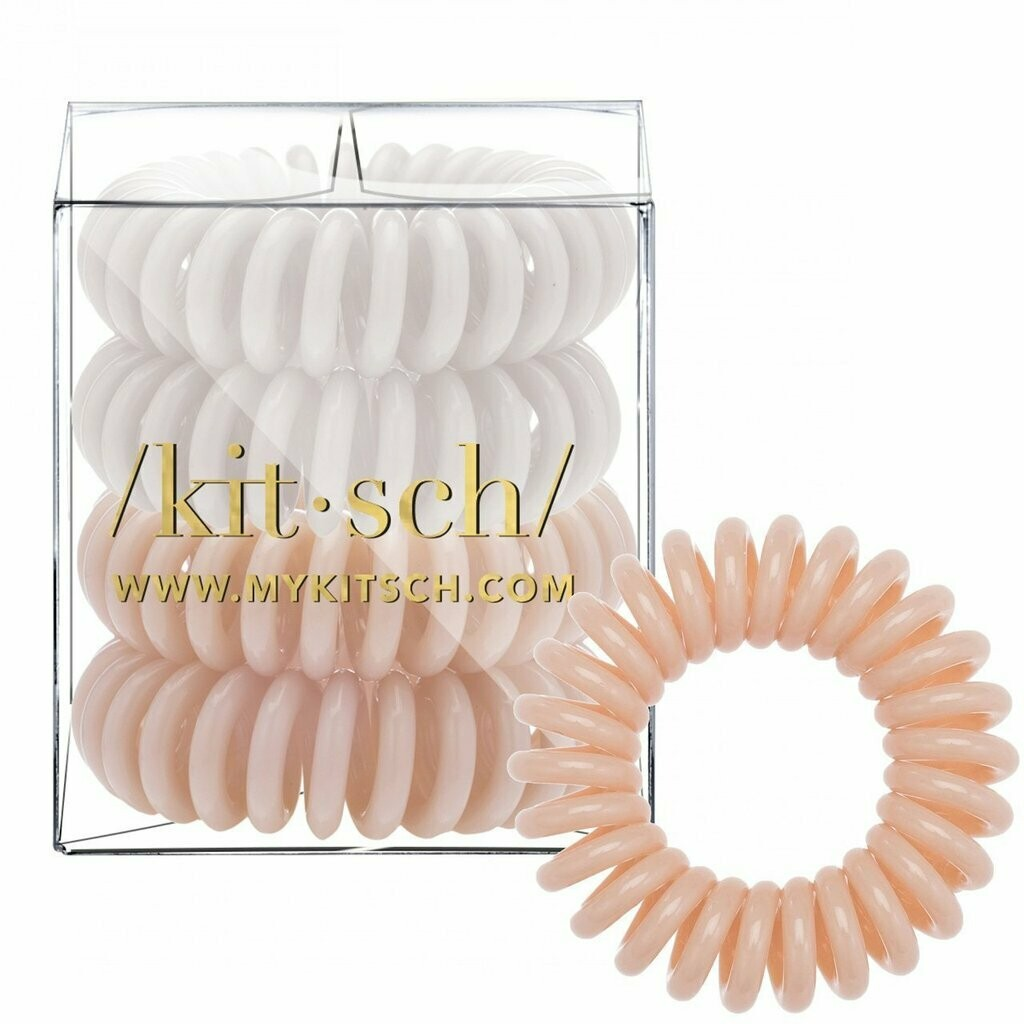 Kitsch 4 Pack Hair Coils Nude