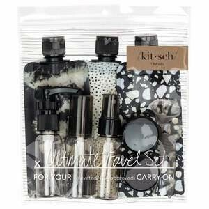 Kitsch Travel Set Black