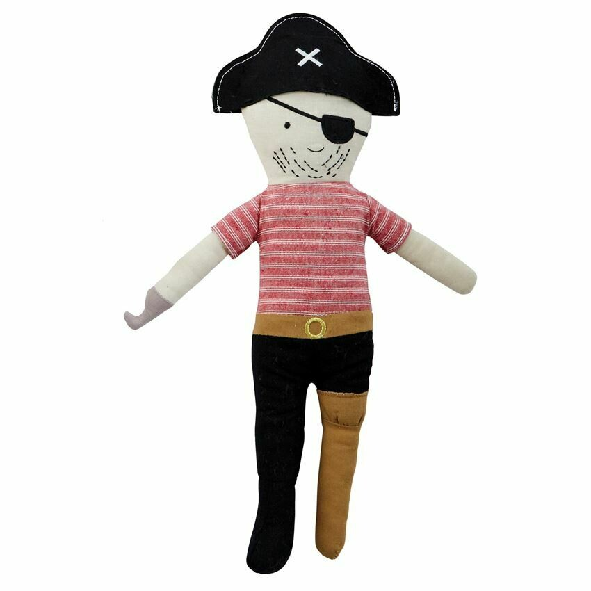 Pirate Doll Black Hat