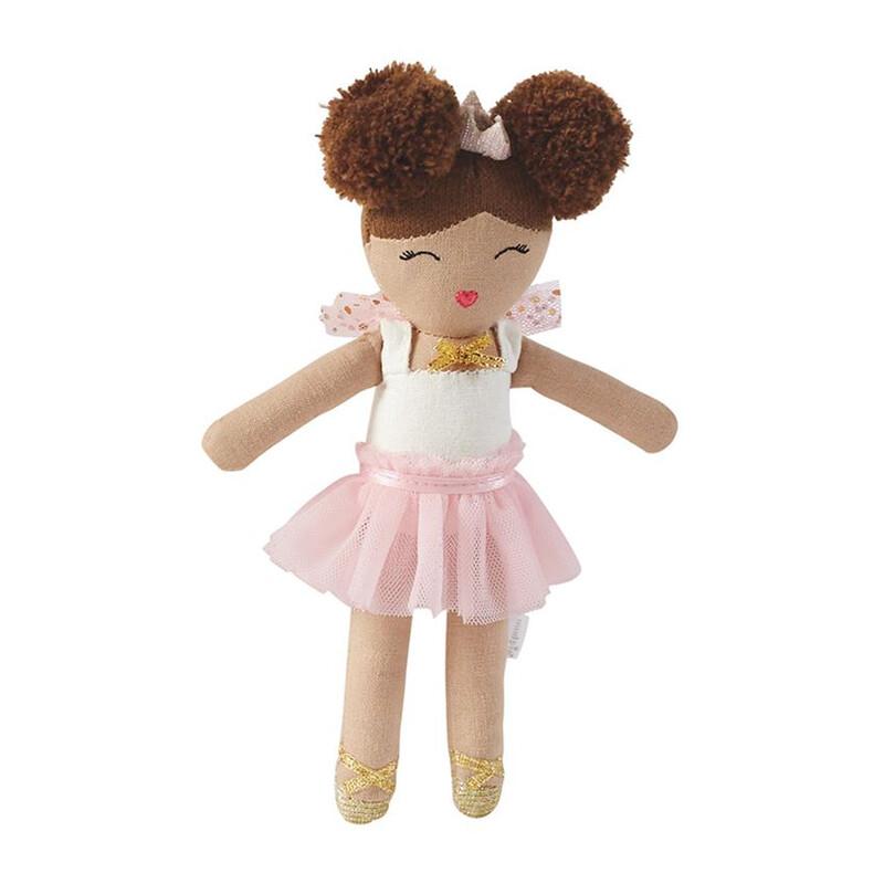 Ballerina Rattle Brown