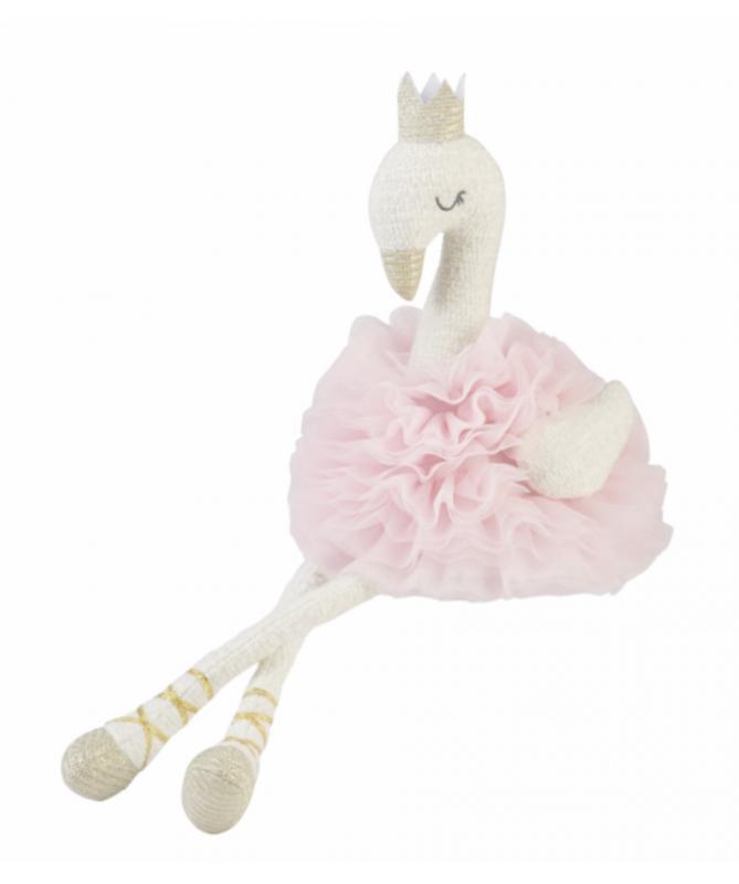Plush Swan Pink TuTu