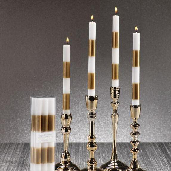 Stripe Candle Sticks