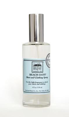 Beach Days Sheet & Clothing Spray