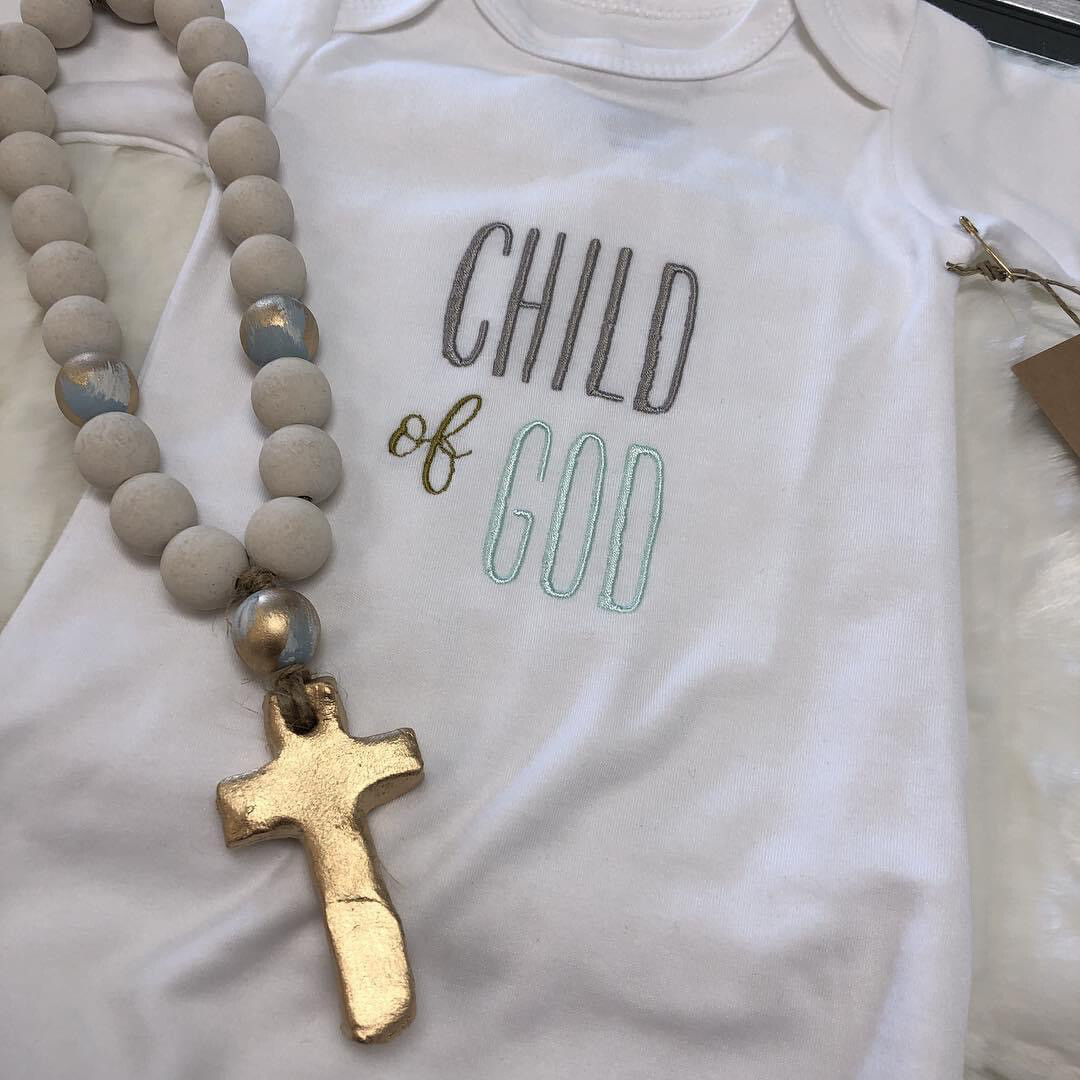 LB Gown Child of God